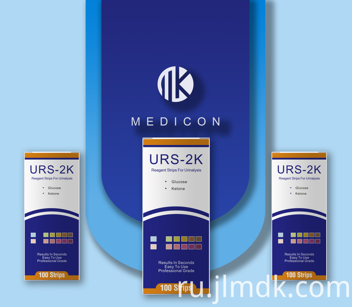 2K Urine Test Strips